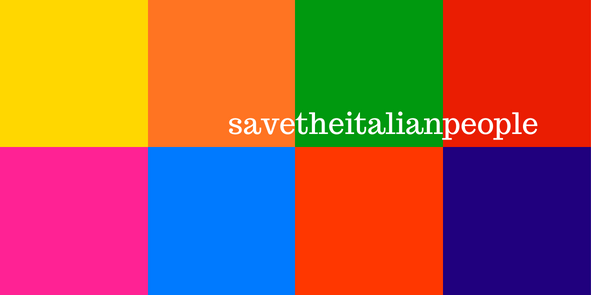 Save the italian people