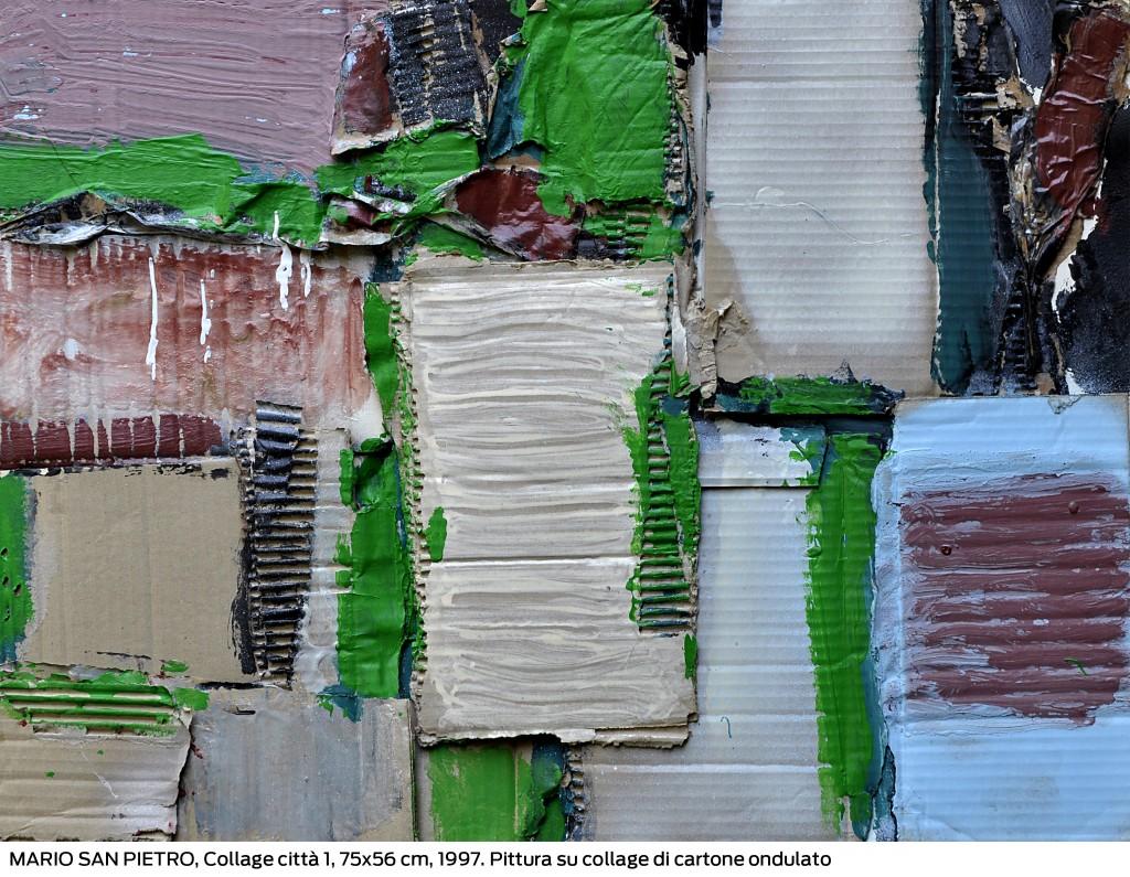 """Mario San Pietro """"Collage Città 1"""""""
